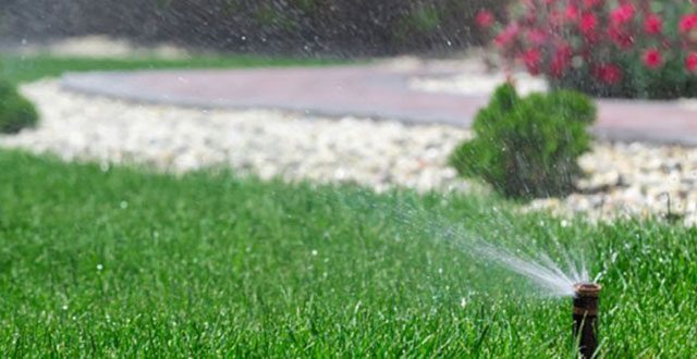 Defined irrigation schedule